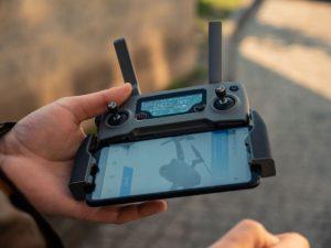 DJI drone controller - FAA remote ID
