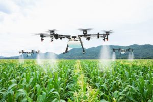 Drone being used on fields in agriculture - Consortiq
