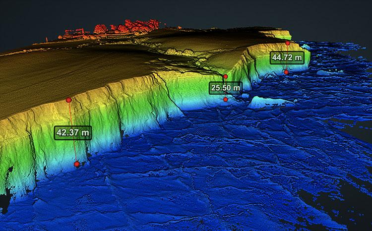 Drone Mapping - LiDAR Coastal Shot