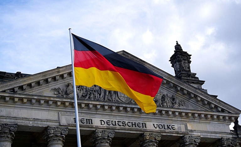 German flag - German drone detection system implementation