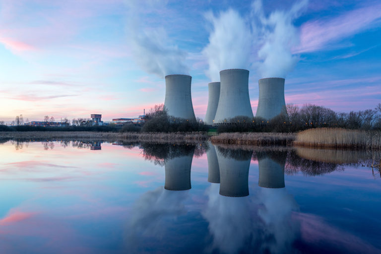 nuclear power plant - consortiq - drones