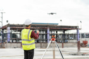 Building inspections with a drone