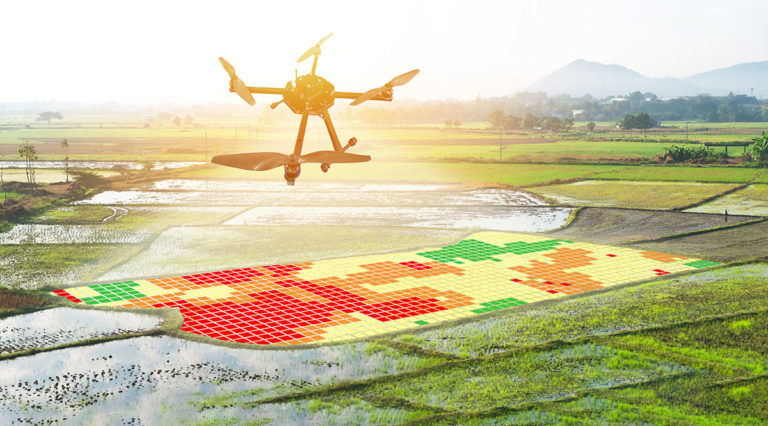 precision agriculture with drones