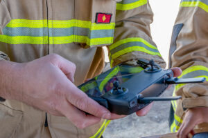 Drone security and firefighting UAS at odds