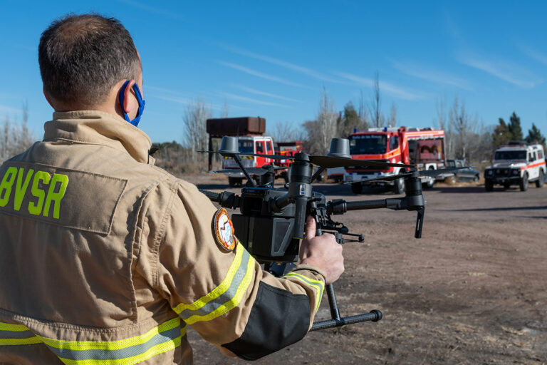 Drones in 2020 - drone being used for emergency services