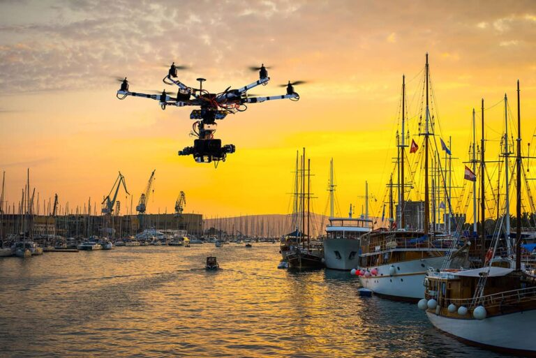 Drones and ports - UAV portside inspections