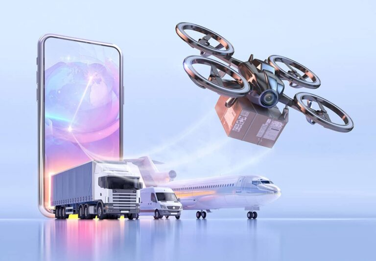 Ion propulsion and drone delivery