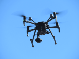 Thermal imaging cameras on drones