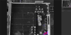 Thermal imaging camera shots