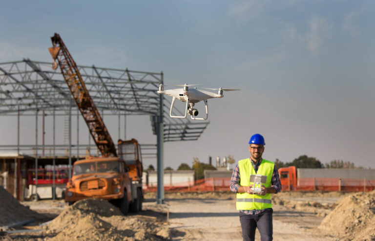 Drones and Real-time construction monitoring