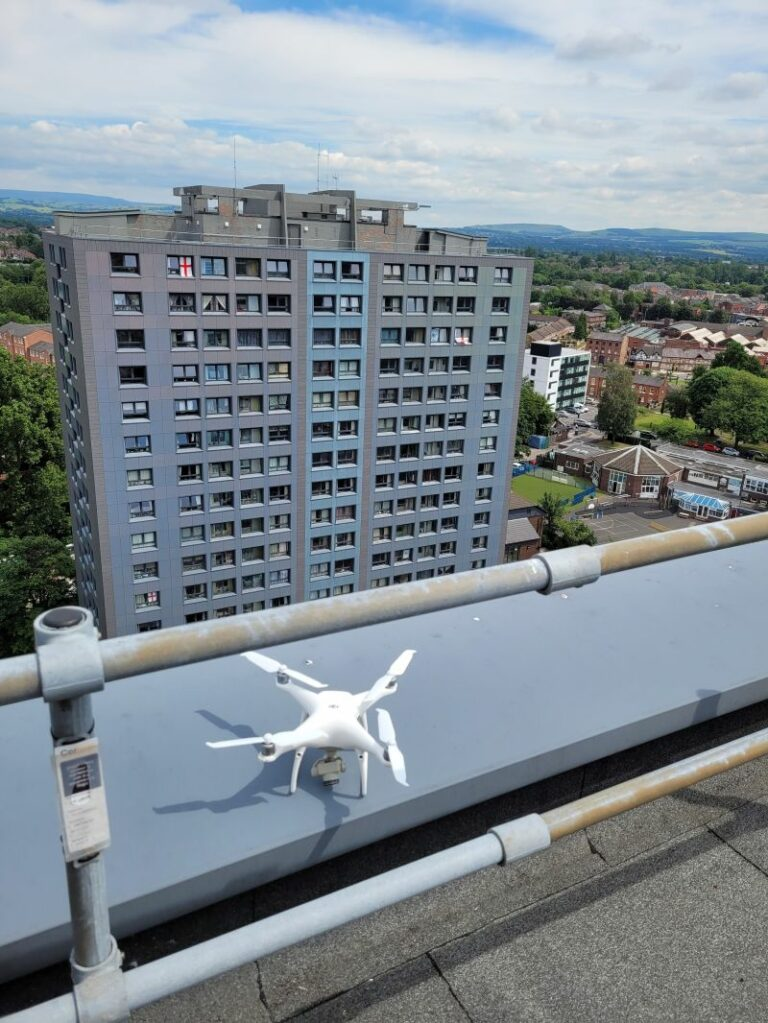 Drones and Building Management