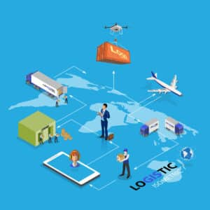 supply chain management solutions with drones