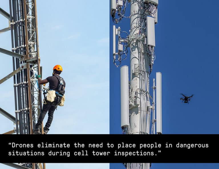 Drone cell tower inspections - Consortiq